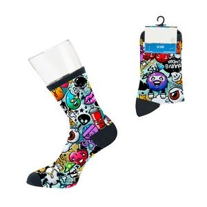 Custom Classic Business Style Sock - Digital Sublimation